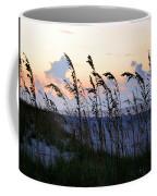 Sea Oats Silhouette Coffee Mug