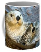 Sea Otter Portrait Coffee Mug