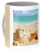 Sea Shell Seashell Clam Beach Decorative Square Zippered Throw Pillow Coffee Mug