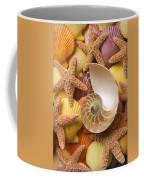 Sea Shells And Starfish Coffee Mug