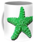 Sea Star Green .png Coffee Mug