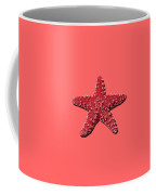 Sea Star Red .png Coffee Mug