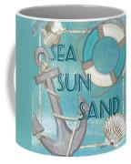 Sea Sun Sand Coffee Mug by Debbie DeWitt