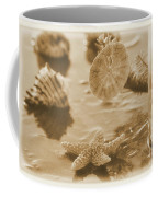 Sea Treasure -sepia Coffee Mug