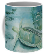 Sea Turtle And Friend Coffee Mug