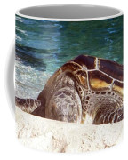 Sea Turtle Resting Coffee Mug