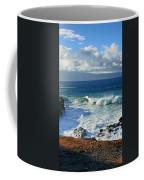 Sea Wave Surf Clouds Coast 46713 300x532 Coffee Mug
