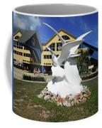 Seabird Statue Coffee Mug