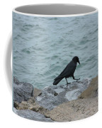 Seafaring Crow Coffee Mug