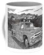 Seagrave Gmc Firetruck Coffee Mug