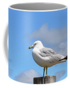Seagull Beach Art - Sitting Pretty - Sharon Cummings Coffee Mug