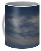 Seagull Enjoying The Heaven Skies Coffee Mug