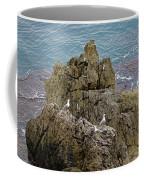 Seagull Island On Cefalu In Sicily  Coffee Mug