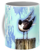 Seagull - Laughing Gull Pop Art  Coffee Mug