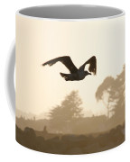 Seagull Sihlouette Coffee Mug by Marilyn Hunt
