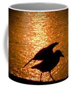 Seagull Silhouette Coffee Mug