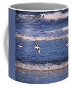 Seagulls Above The Seashore Coffee Mug