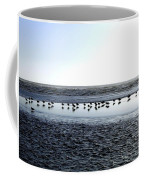 Seagulls On A Sandbar Coffee Mug