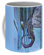 Seahorse Anchored Coffee Mug