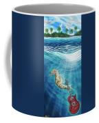 Seahorse Blues Coffee Mug