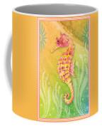 Seahorse Pink Coffee Mug
