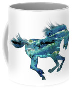 Seahorse By V.kelly Coffee Mug