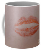 Sealed With A Red Kiss Coffee Mug