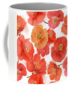 Seamless   Pattern Of Watercolor Poppy Flowers Coffee Mug