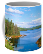 Seaplane On Talkeetna Lake, Alaska Coffee Mug