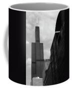 Sears Tower B-w Coffee Mug