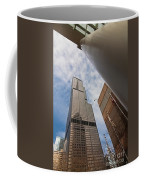 Sears Tower From Across The Street Coffee Mug