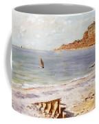 Seascape At Sainte Adresse  Coffee Mug