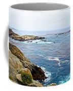 Seascape From Point Lobos State Reserve Near Monterey-california  Coffee Mug