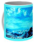 Seascape Scene Near Northbrooke-on-sea L A Coffee Mug
