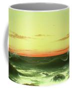 Seascape Sunset 1861 Coffee Mug