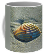 Seashell After The Wave Square Coffee Mug