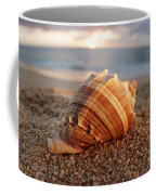 Seashell In The Sand Coffee Mug