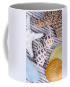 Seashells And Starfish Coffee Mug