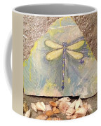 Seaside Dragonfly Coffee Mug