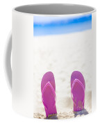 Seaside Holiday Concept With Copyspace Coffee Mug