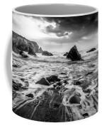 Seaside B/w  Coffee Mug