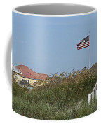 Seaside Patriotism Coffee Mug