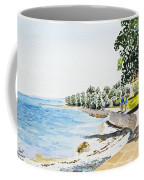 Seaside Town Coffee Mug