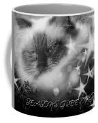 Seasons Greetings Bw Coffee Mug