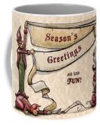 Season's Greetings Coffee Mug