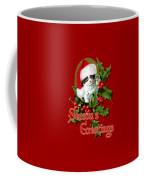 Seasons Greetings - Kitten Coffee Mug