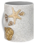 Seastar And Shells Coffee Mug by Joana Kruse