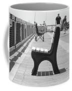Seat On The Pier Coffee Mug