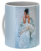Seated Dancer Coffee Mug
