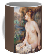 Seated Female Nude Coffee Mug